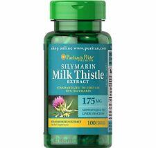 Latte Cardo estratto 175 mg (80% Silymarin) 100 CAPSULE puritans Pride UK Venditore
