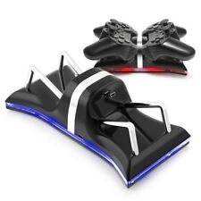 For PS3 PlayStation3 Dual USB LED Charging Dock Station Controller Fast Charger