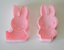 Miffy stantuffo Cutter, conigli, BUNNIES, Set di 2 stantuffo Cutter, Sugarcraft