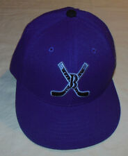 The Fittie Magic Headwear Justin Bieber Hat Fitted Cap Purple Hockey 100% Wool