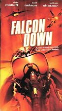 Falcon Down (VHS) action thriller William Shatner OOP