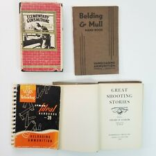 Vintage Gunsmithing 4 Book Lot 1937 to 1953 Reloading Layman Bending & Law