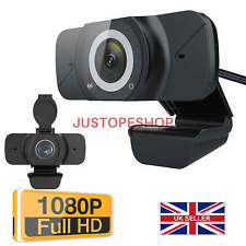 More details for full hd 1080p webcam usb autofocus web camera with microphone for pc laptop uk
