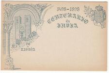 CARTE ENTIER POSTALE NEUF PORTUGAL COLONIE ACORES LISBOA  1498 / 1898