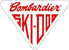 "#684 (1) 3"" Ski-Doo racing bee skidoo bombardier Vinyl Decal LAMINATED stickers"