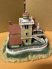 """East Brother Light Station"" Historic American Lighthouses by the Danbury Mint"