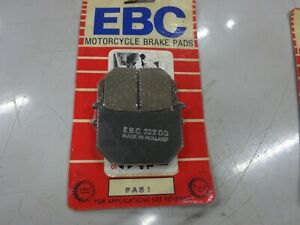 SUZUKI NOS EBC BRAKE PAD SET GS1100 GS1000 GS850 GS750 GS700 GS450 GN400 GS250