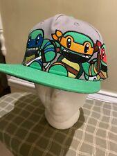 Nickelodeon TMNT Teenage Mutant Ninja Turtles Embroidered Snap Back Cap - TMNT