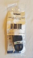 Cjast Panduit Copper Cable Jacket Stripping Tool, Adjustable, Single-Handed