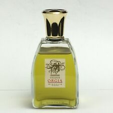 RARE Vintage  Myrurgia Colonia ORGIA Perfume 6oz Splash Spain, Almost Full