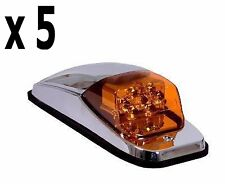 5 MAXXIMA  CAB LIGHT (AMBER/AMBER)  PETERBILT FREIGHTLINER KENWORTH LED