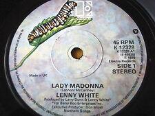 """LENNY WHITE - LADY MADONNA  7"""" VINYL"""