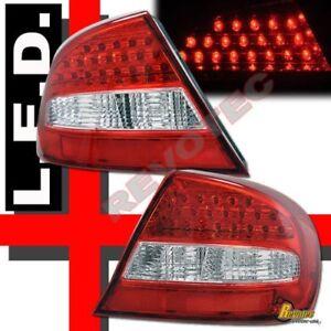 03 04 05 Chrysler Sebring Coupe 2 Door LED Tail Lights Pair