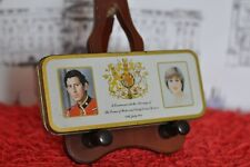 Prince Charles and Lady Diana Wedding Commemorative Pencil Tin