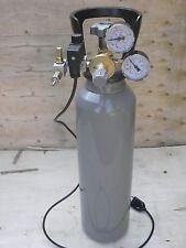 Impianto   concimazione carbonica acquario riduttore bombola carica 4 kg co2.