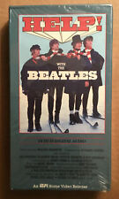 Vintage The Beatles HELP (Betamax, 1987) FACTORY SEALED - RARE - John Lennon