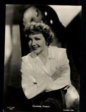 Claudette Colbert 50er Jahre Postkarte  + P 5190