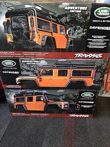 Traxxas 8011A Land Rover Defender Body Adventure Orange: TRX-4 New