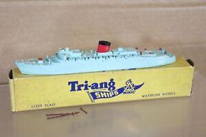 TRIANG MINIC SHIPS M701 RMS CARONIA OCEAN LINER SHIP BOXED 2 nq