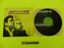 "Johnny Cash rock island line - LP Record Vinyl Album 12"""