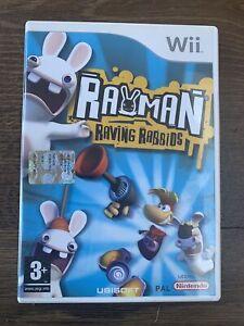 Rayman Raving Rabbids - Nintendo Wii Game - FREE UK P&P