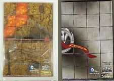 Heroclix DC 2013 Teen Titans & 2014 Superman Legion of Super Heroes maps SEALED!