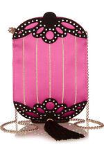Charlotte Olympia Long Festival Chinese Lantern Silk-Satin Should Bag