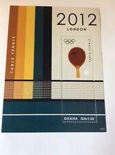 London Olympic Games 2012 Ghana sheet