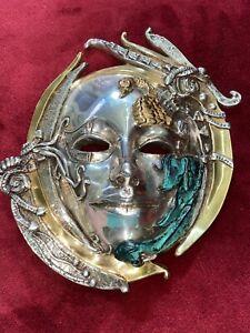 D'Argenta Swan LTD ED Mask Wall Art Sculpture   2103