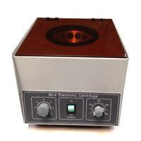 80-1 Electric Centrifuge Machine Lab Medical Practice 110V 4000 rpm 20ml x 12
