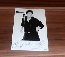 Shakin STEVENS * Marie Marie, take one! *, Original Signed Photo ca. 12x17 cm