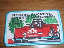 NEOhio Buckeye Sprints National Event August 1995 Patch  New never worn