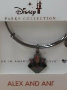 Disney Parks Alex and Ani Aladdin Evil Queen Snow White Bracelet Bangle  New