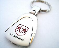 DODGE KEY CHAIN RING FOB CHALLENGER DART DURANGO JOURNEY 2015 2016 CHROME NEW