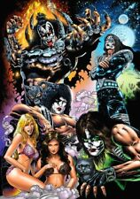 KISS-Destroyer '70's Poster Heavy Metal Sticker Or Magnet