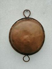 Pan Pot Pan Copper Nineteenth Century Batting by Hand 412 G