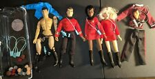 Star Trek Figure lot Mego Uhura Spock Chekhov head Leslie custom Khan Tribbles