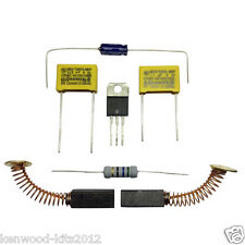 KENWOOD CHEF A902, 904 EXCEL & KM ELECTROLYTIC CAP MOTOR REPAIR KIT & BRUSHES