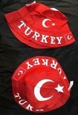 FISCHERHUT TÜRKEI ANGLERHUT rot Hut Souvenir Sommerhut Schlapphut Turkey Türkiye
