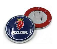 """NEW Saab 9-5 9-3 Front Hood Bonnet Emblem Badge Symbol Logo 68MM 2.625"""""""