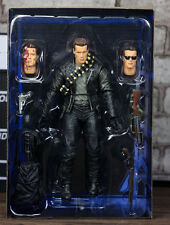 """NECA Terminator 2 Judgment Day T-800 Ultimate Deluxe Arnold 7"""" Action Figure"""