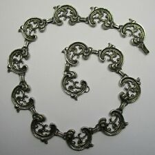 Attraktives Trachten Collier aus 925 Silber 41,5 cm lang - 1714