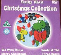 Christmas Collection - We Wish You A Merry Christmas + Santa & Three Bears (DVD)