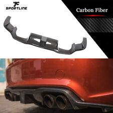 Fit For BMW F87 M2 Coupe 16-20 Rear Bumper Diffuser Lip W/LED Carbon Fiber Refit