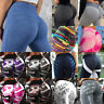 Women High Waist Yoga Pants Push-up Leggings Sports Gym Fitness Scrunch Trousers