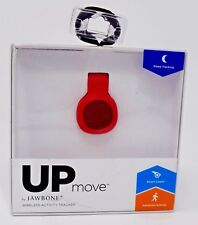 NEW UP MOVE by Jawbone wireless activity tracker red bluetooth sleep tracking