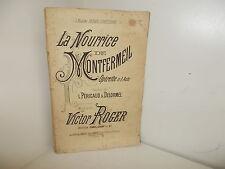 La Nourrice de Montfermeil. Opérette, partition Piano & Chant