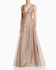 Aidan Mattox Metallic Organza Ball Gown Size 0 #F88 MSRP $395.00