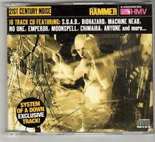 (GQ63) 21st Century Noise, 16 tracks various artists - 2001 - Metal Hammer CD