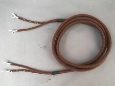 Cloth Covered Receiver Cord - Brown - Spade - Spade - 30007 - Best on Market